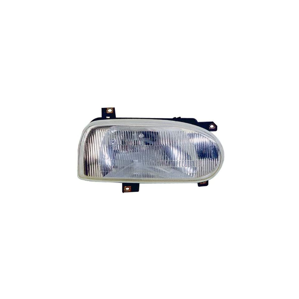 Depo 341 1101L AS Driver Side Headlight Assembly