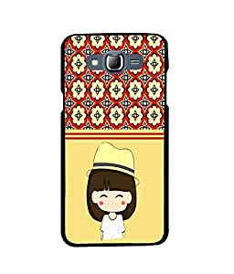 Fuson 2D Printed Girly Designer back case cover for Samsung Galaxy J7 - D4440