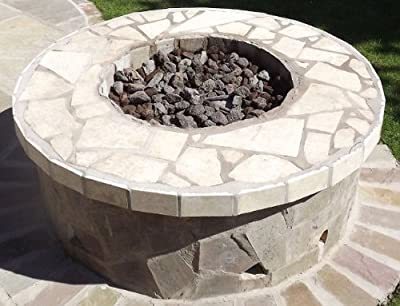Brightstar Gas Fire Pit Burner Round 18kw Lpg Gas from Firepits UK Ltd