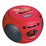 LEXIBOOK-Boombox-Radio-CD-Player-Disney-Cars-Musik-Spielzeug-rot
