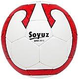 Vicky Soyuz Football, Size-5 (White/Red)