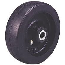 "Revvo RU Series 6"" Diameter X 1-3/4"" Width Rubber Wheel, 810 Capacity"