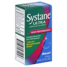 Systane Ultra Eye Drops, Lubricant, High Performance, 10 ml