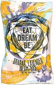 EAT DREAM BE- Dream Bar Relaxation Snacks (Banana Lavender, 12 Pack)