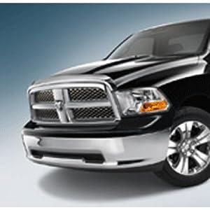 Air Deflector, Front - Brilliant Black for 09-12 Dodge Ram Mopar Part #82211339
