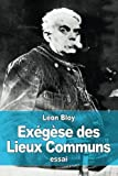 img - for Ex g se des Lieux Communs (French Edition) book / textbook / text book