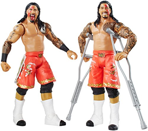 WWE-Battle-Pack-Series-32-Jimmy-Uso-vs-Jey-Uso-Action-Figure-2-Pack