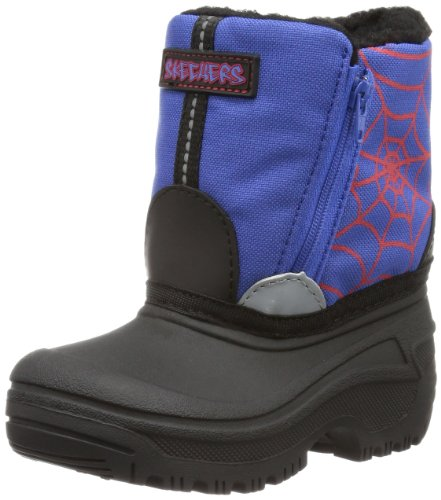 Skechers Boys Brumal Spiderwebs Boots Blue Blau (BLRD) Size: 25