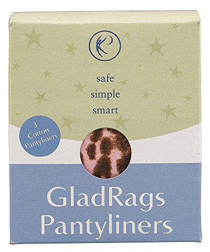 Gladrags Pantyliner Color - 3 Ea, 12 Pack (Color May Vary)