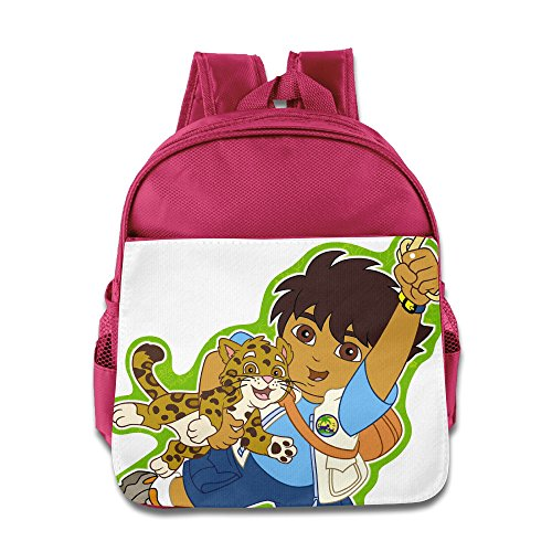 [Go, Diego, Go Diego Marquez Kids School Backpack Pink] (Dora Diego And Boots)