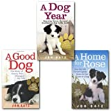 Jon Katz Dog Stories Collection 3 Books Set By Jon Katz, (A good Dog, A Home for Rose and A Dog Year)