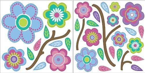 wallpops-autoadesivo-decorativo-da-parete-da-parete-con-fantasia-a-fiori-punteggiati-40-cm