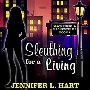 Sleuthing for a Living Hörbuch