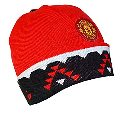 Manchester United FC Authentic Official Licensed Product Soccer Beanie