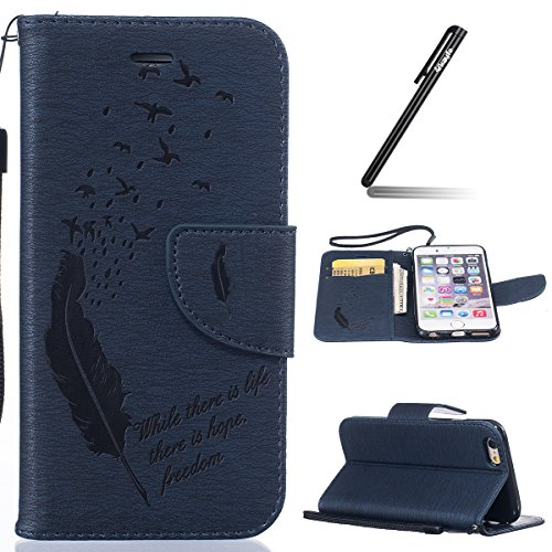 iphone-6-6s-47-custodia-ukayfe-2016-modello-bumper-slim-folio-protectiva-custodia-portafoglio-wallet