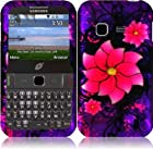 Lustful Flower Design Hard Case Cover Premium Protector for Samsung S390G / Samsung Freeform M T189N (by Metro PCS / Net 10 / Tracfone / Straighttalk) with Free Gift Reliable Accessory Pen