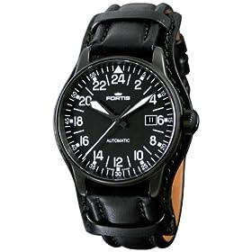 FORTIS (フォルティス) 腕時計 フリ—ガ—ブラック 24H リミテッドエディション 596.18.41 メンズ