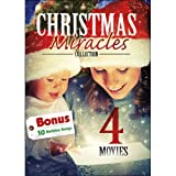 4 Movie: Christmas Miracles Collection with 10 MP3 Holdiay Songs: A Time for Miracles / Angel in the Family / The Sons of Mistletoe / Miracle at Christmas: Ebbies Story
