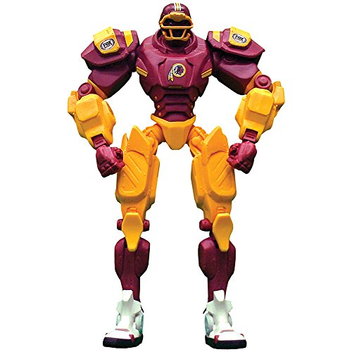 NFL Washington Redskins Poseable Robot Fox Sports Football Fan Action Figure