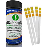 pH Test Strips for Urine and Saliva, FREE Alkaline Diet eBook & 2 Tracking Sheets, 100 Ct., Top Rated, Fast & Accurate, pH Balance Your Life Today!