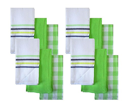 Set of 12 Gourmet Kitchen Towels 14