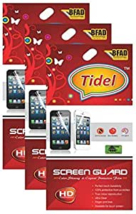 Tidel Ulta Clear HD Screen Guard Protector for LAVA X1 (Pack Of 3)