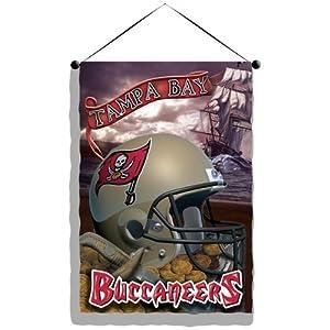 "Tampa Bay Buccaneers NFL Wall Hanging - 28"" x 41"""