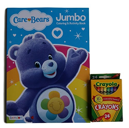 Care Bears ''Harmony Bear'' Jumbo Coloring and Activity Book with Crayola Crayons (Original Care Bears compare prices)