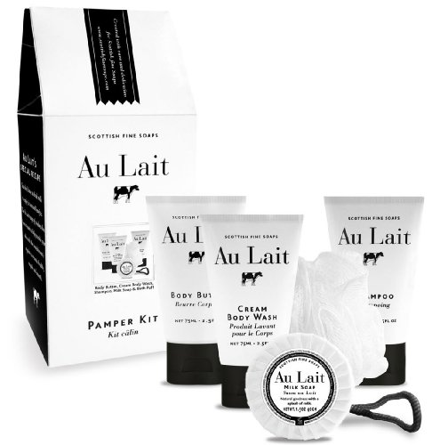 Scottish Fine Soaps Au Lait Pamper Gift Set