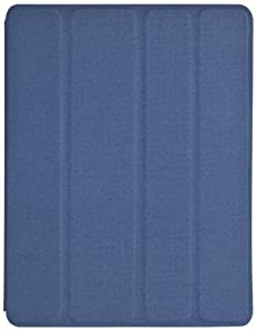 Skech Blue Fabric Flipper Case & Stand for iPad 2, 3 & 4