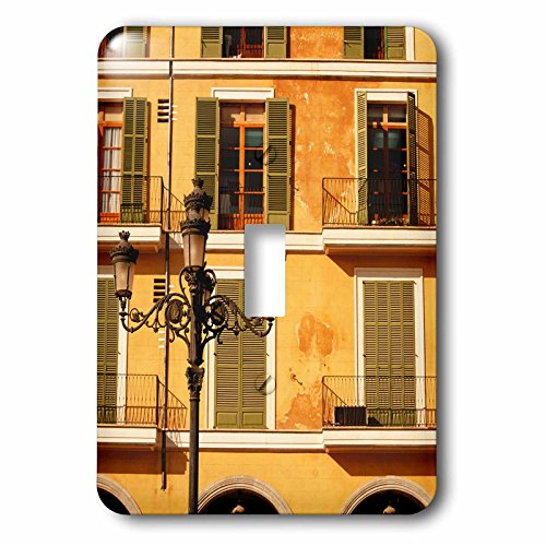 Danita Delimont - Lamps - Spain, Balearic Islands, Mallorca. Plaza Mayor. - Light Switch Covers - single toggle switch (lsp_209872_1)