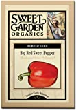 Big Red Sweet Pepper - Heirloom Seeds