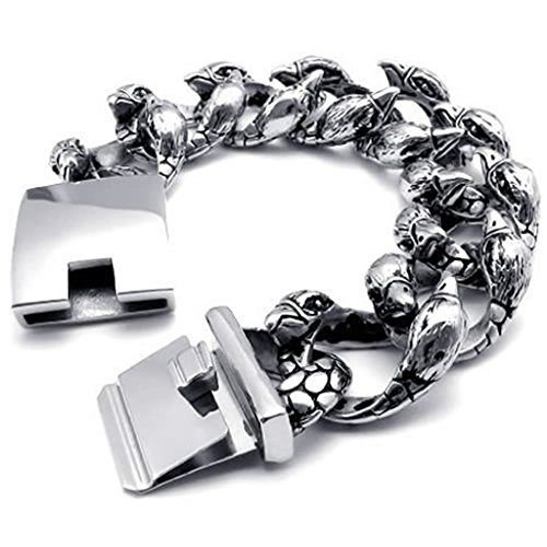 annroz-mens-link-bracelets-stainless-steel-silver-eagle-241x2159cm