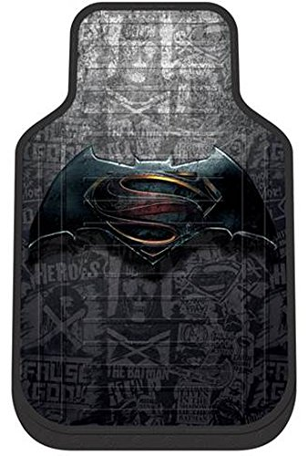 Plasticolor 001592R01 WB Batman vs Superman Floor Mat at Gotham City Store