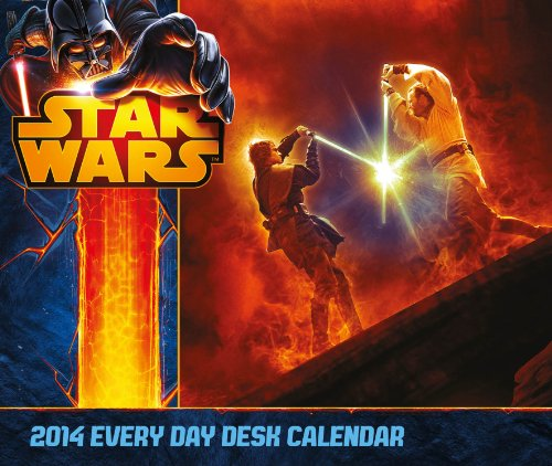 Official Star Wars Desk Block 2014 Calendar