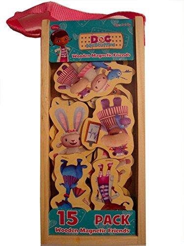 Disney Doc McStuffins Wooden Magnetic Friends - 1
