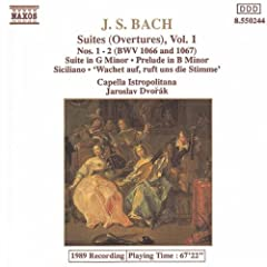 Overture (Suite) No. 1 in C major, BWV 1066: V. Menuet I and II