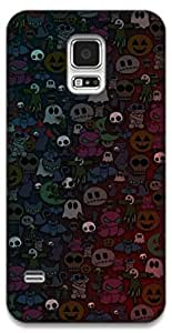 The Racoon Grip Halloween hard plastic printed back case / cover for Samsung Galaxy S5