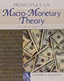 img - for Principles of Macro-Monetary Theory book / textbook / text book