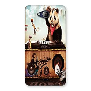 Ajay Enterprises Ever Cartoon Game Back Case Cover for Canvas Play Q355
