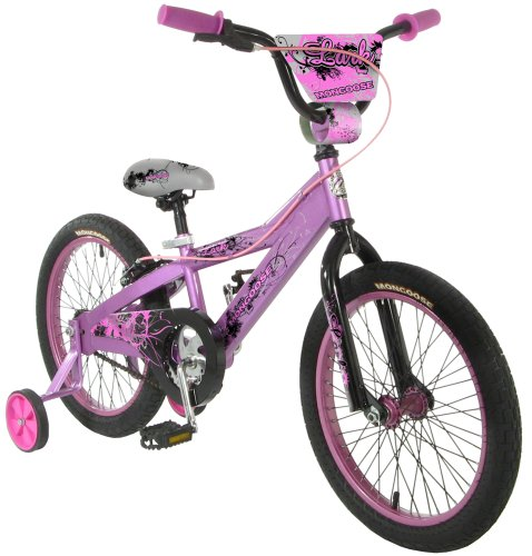 Great Features Of Mongoose Lark Girls' Bike (18-Inch Wheels)