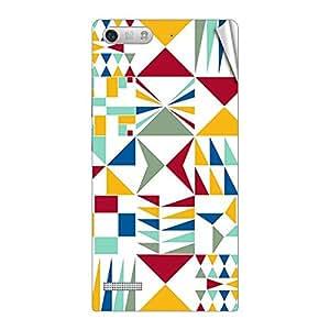 Garmor Designer Mobile Skin Sticker For Huawei HONOR 4X - Mobile Sticker