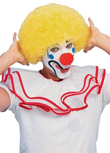 Popca (Yellow Afro Clown Wig)