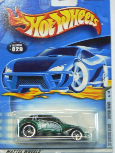 Hot Wheels 2000 Cd Customs Series Chysler Pronto #029 on Card Variaton - 1