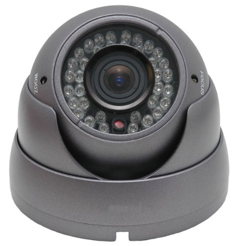 700Tvl Indoor/Outdoor Vandal Proof Dome Camera 100Ft Ir (Infrared), 2.8Mm-12Mm Lens, Dwdr Sony Effio 12V