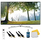 UN50H6350 - 50 HD 1080p Smart HDTV 120Hz with Wi-Fi Plus Hook-Up Bundle. Bundle Includes TV, 3 Outlet Surge protector with 2 USB Ports, 2 -6 ft High Speed 3D Ready 1080p HDMI Cable, Performance TV/LCD Screen Cleaning Kit, and Cleaning Cloth.