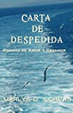 Carta de despedida. Poemas de Amor y Desamor (Spanish Edition)