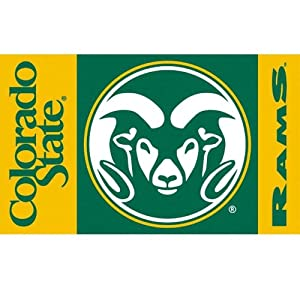 BSI Colorado St. Rams Premium 3x5 Flag by BSI