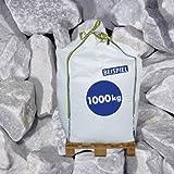Marmorbruch Carrara Weiß 40-70 mm 1000kg Big Bag