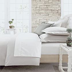 Charter Club Damask Solid 500T White King Duvet Cover